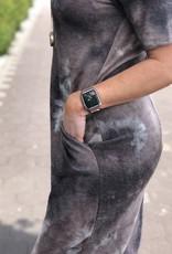 Tie Dye Midi Tshirt Dress