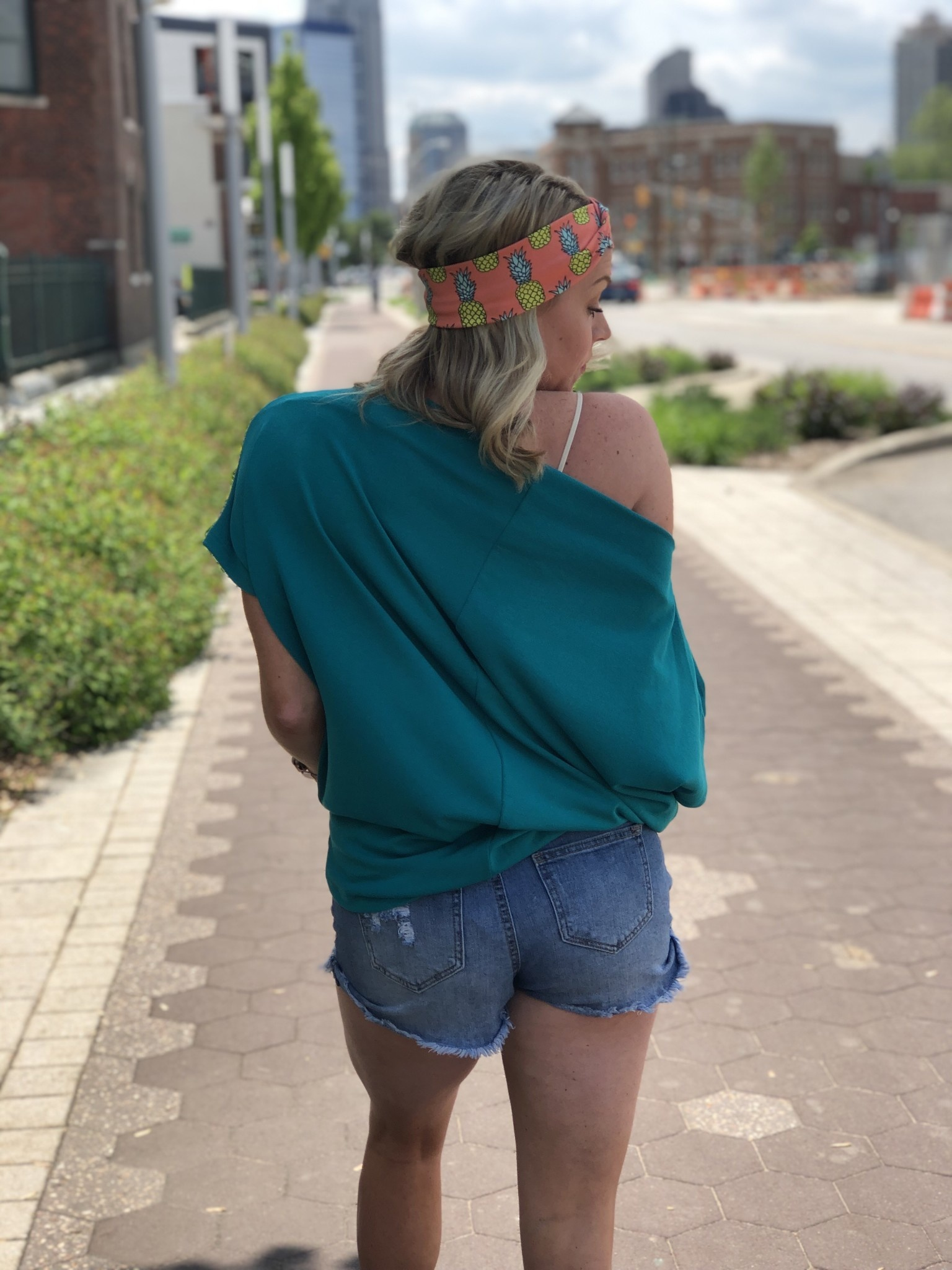 Jade Off The Shoulder Top