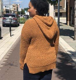 Coffee Popcorn Pullover Sweater