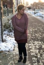 Heathered Knit Dress