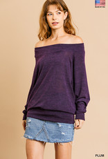 Lightweight Plum Sweater