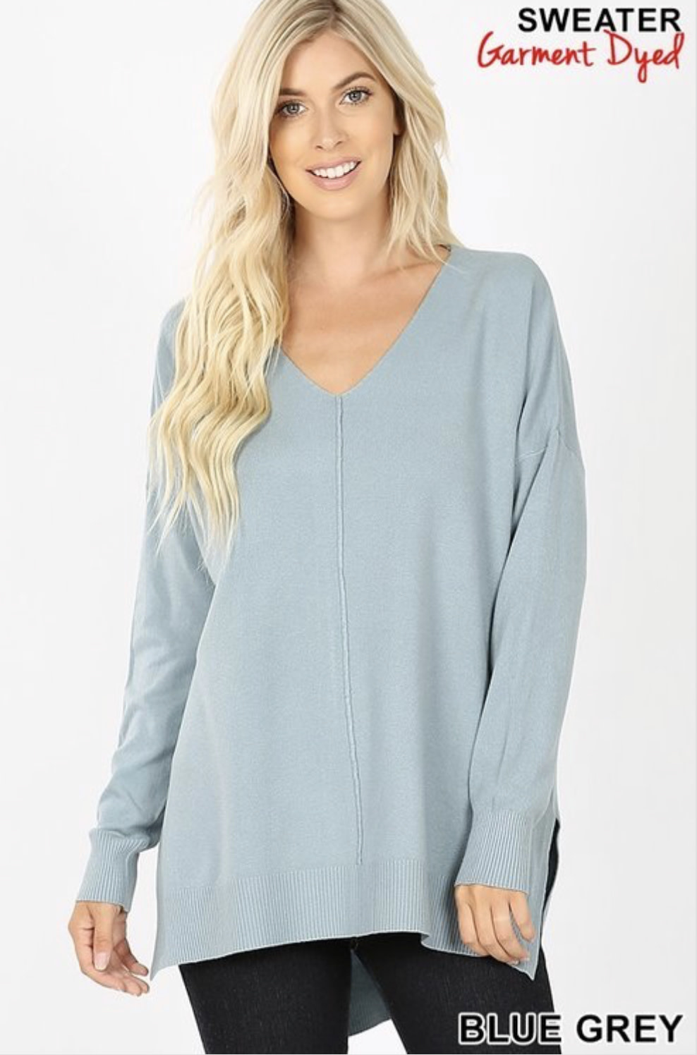 Lightweight Tunic Sweater