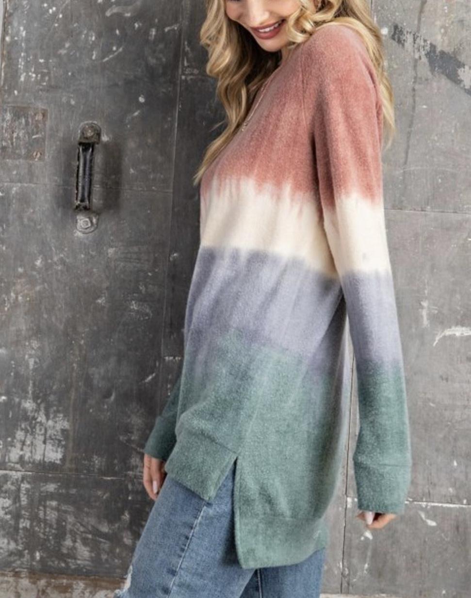 Tie Dye Soft Megan Sweater