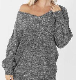 Alayna's V Neck Sweater
