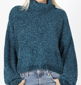 Kathy's Soft Cropped Sweater