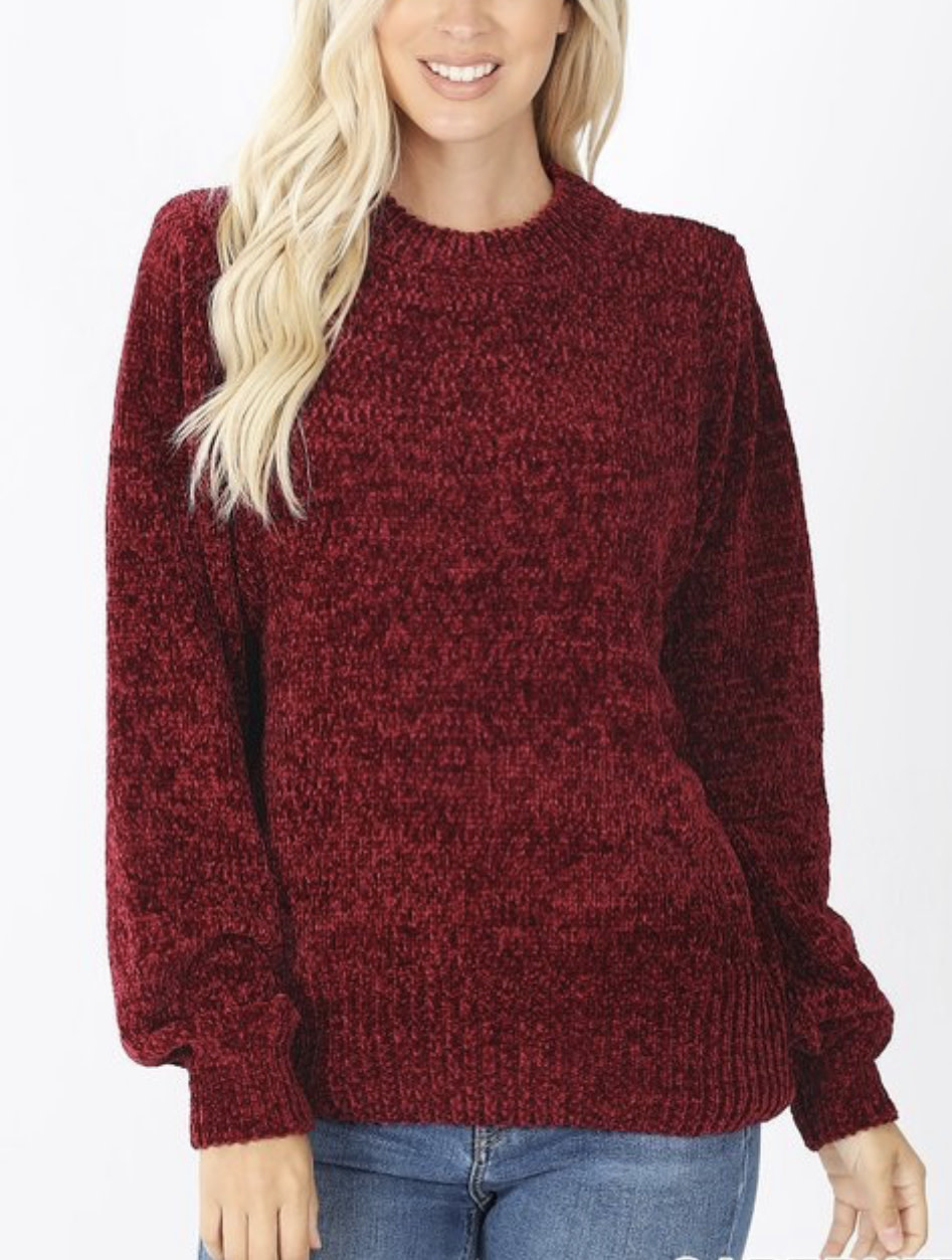 Lindsey's Chenille Sweater