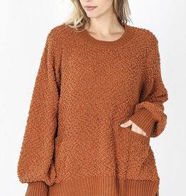 Megan's Spicy Popcorn Sweater
