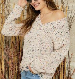 Lara's Confetti Sweater