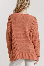 Brick Cable Knit Sweater