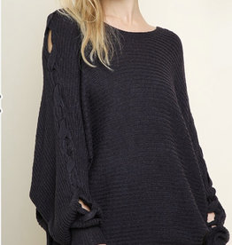 Long Navy Sweater