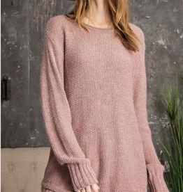 Mauve Knit Sweater
