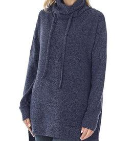 Thin Soft Navy Sweater