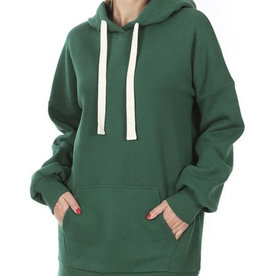 Green Tunic Hoodie