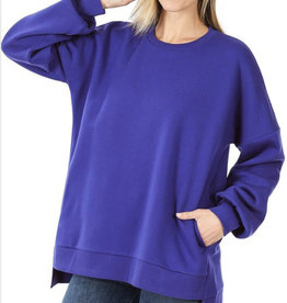 Blue Sweatshirt w/ Pockets