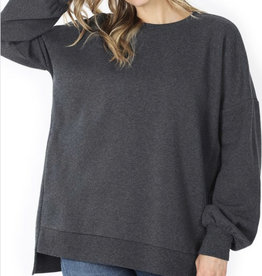 Charcoal Sweatshirt w/ Pockets