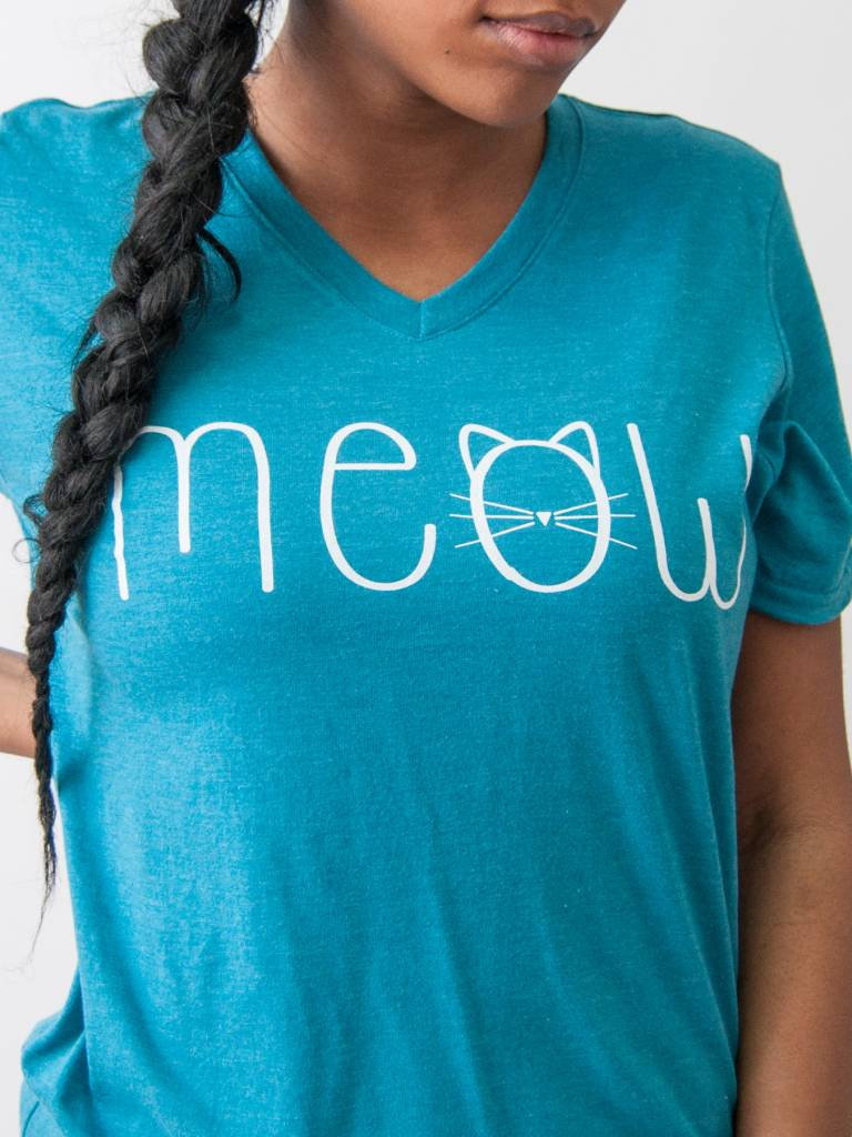 Meow Cat Felicia Tees