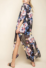 Floral Long Line Covering