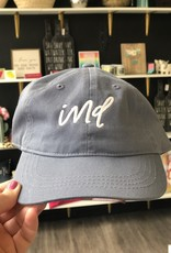 Vintage Blue IND Dad Hat