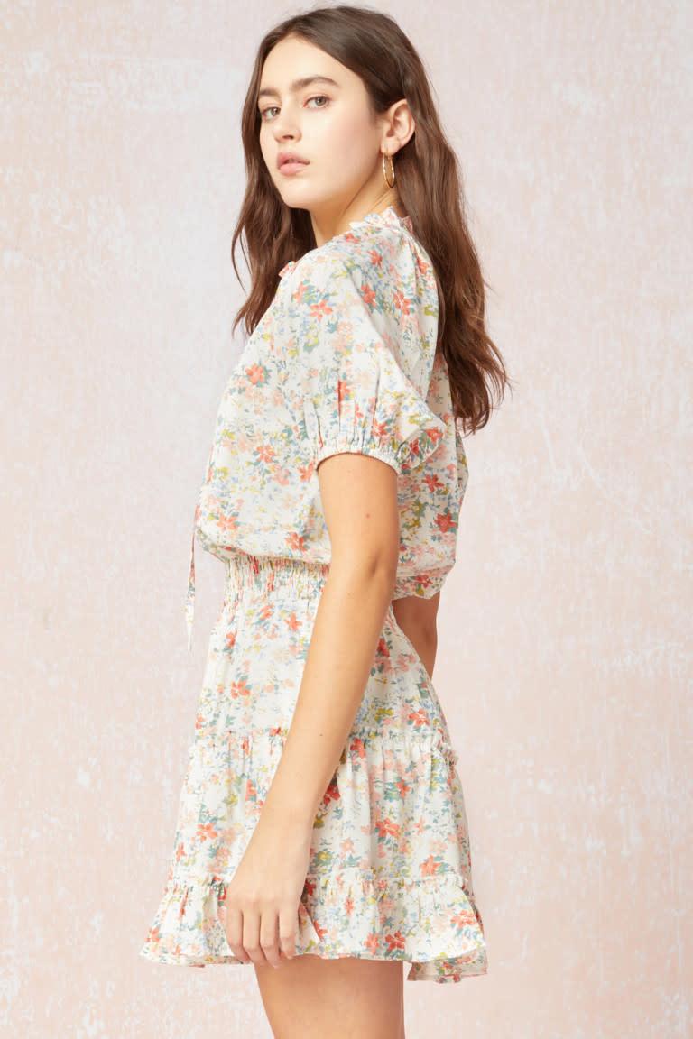 Flowy Floral Dress