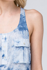 Tie Dye Pocketed Tank