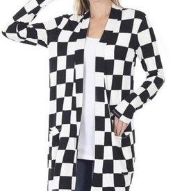 Lightweight Checkered Coverup