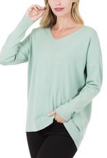 Lt. Green Soft Sweater