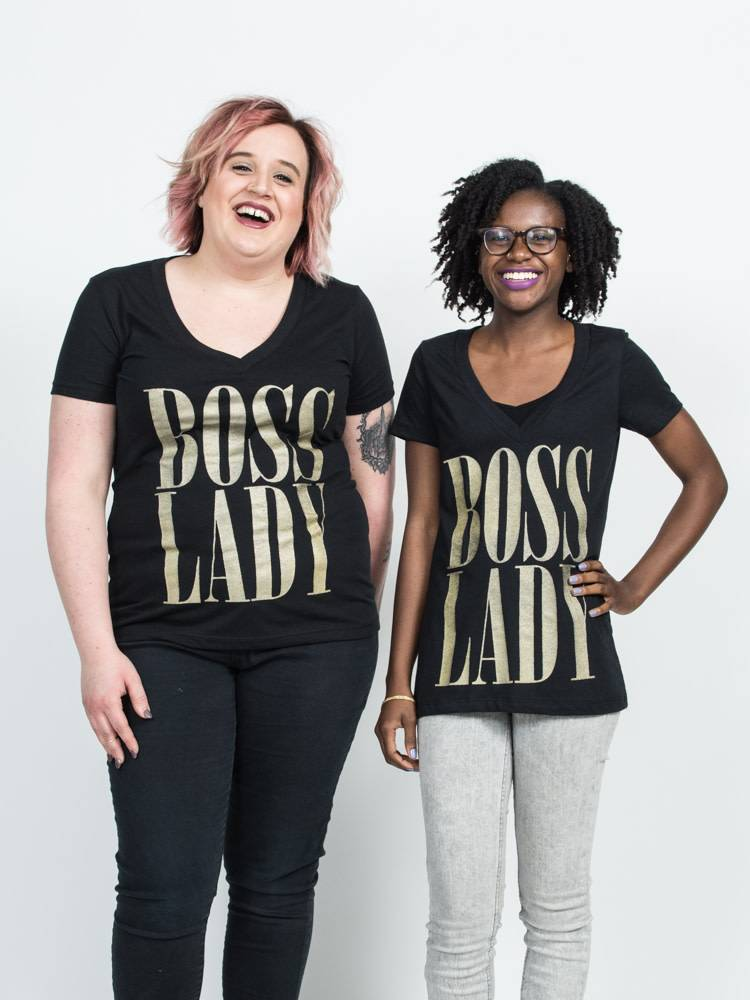 Boss Lady Felicia Tees