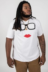 Glasses and Lips Logo Tee Unisex Felicia Tees