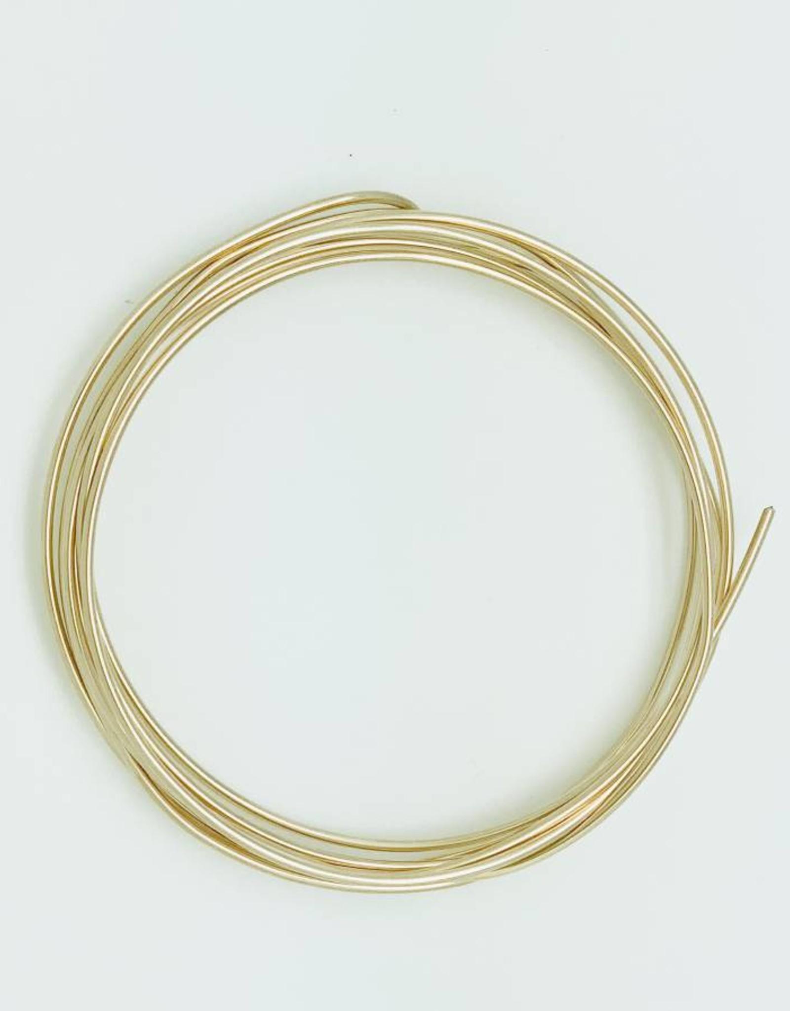 14ga Gold Filled Round Wire 1 oz