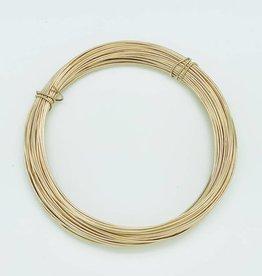 20ga  Gold Filled Round Wire 1 oz