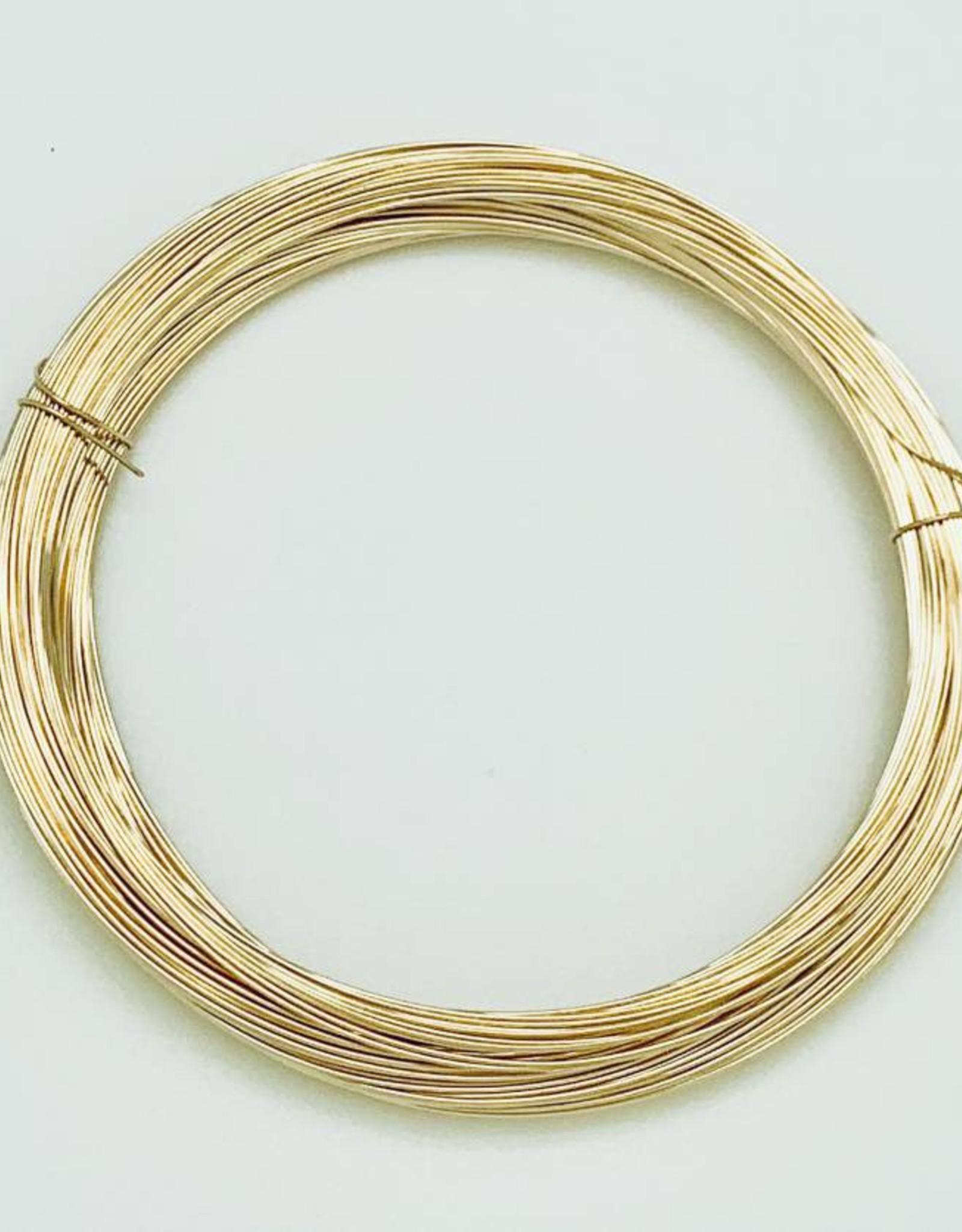 26ga Gold Filled Round Wire 1 oz