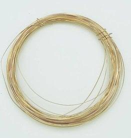 28ga Gold Filled Round Wire 1 oz