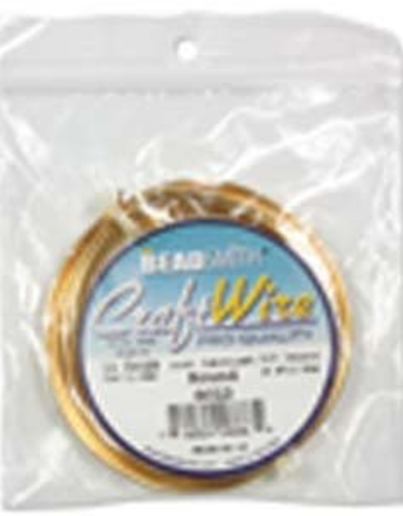 Craft Wire 14ga Round Gold Plated 10ft