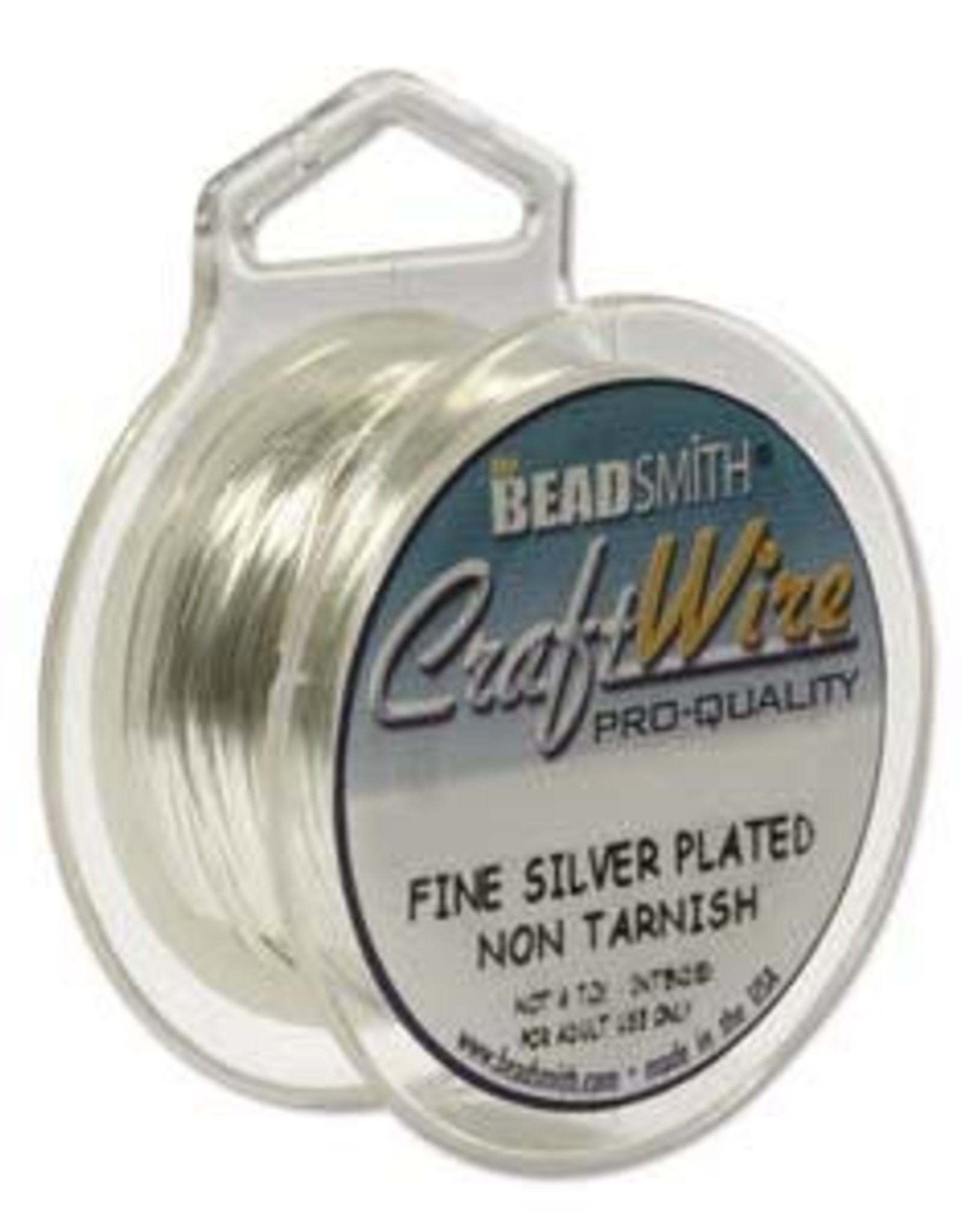 Craft  Wire 22ga. Silver Plate 8yd