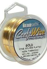 Craft  Wire 28ga. Gold Plate 15yd