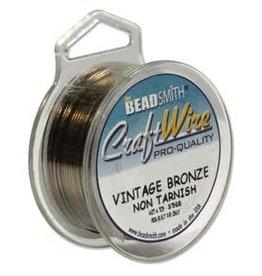 Craft Wire 22ga. Vintage Bronze 15yd