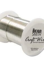 Craft Wire 18ga. Silver Plate 10yds