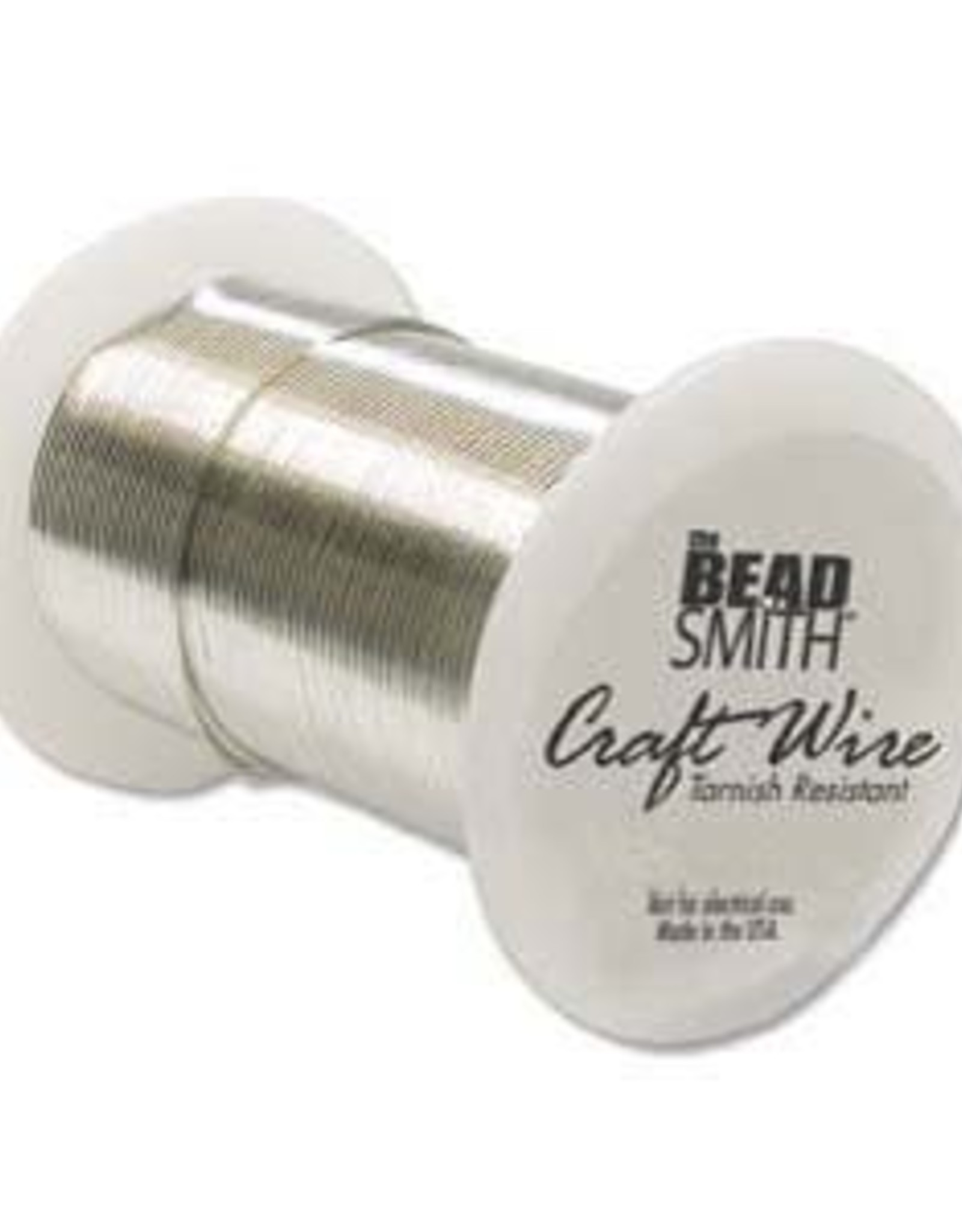 Craft Wire 24ga. Silver Plate 30yds