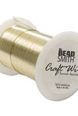 Craft Wire 26ga. Gold Plate 34 yds