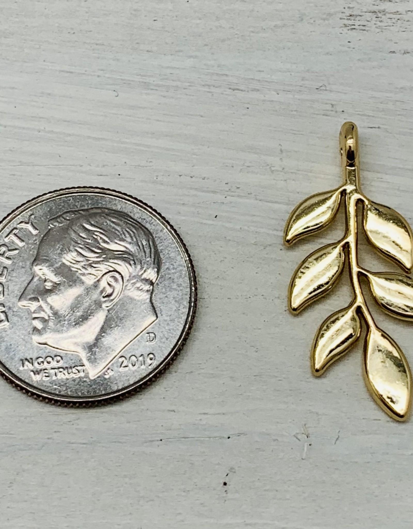 Leaf Dangle Charm