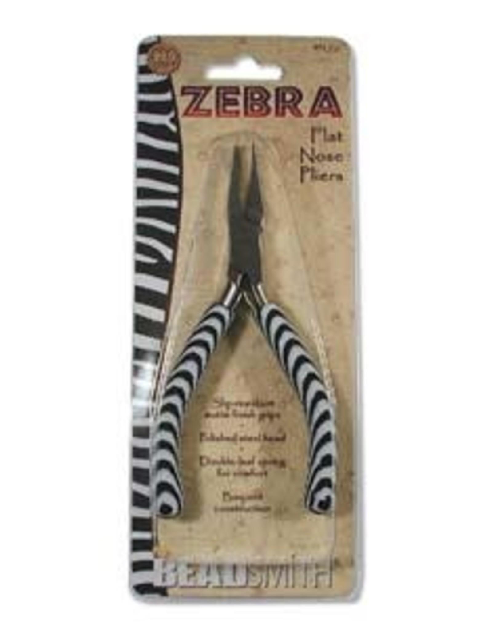 Zebra Flat Nose Pliers