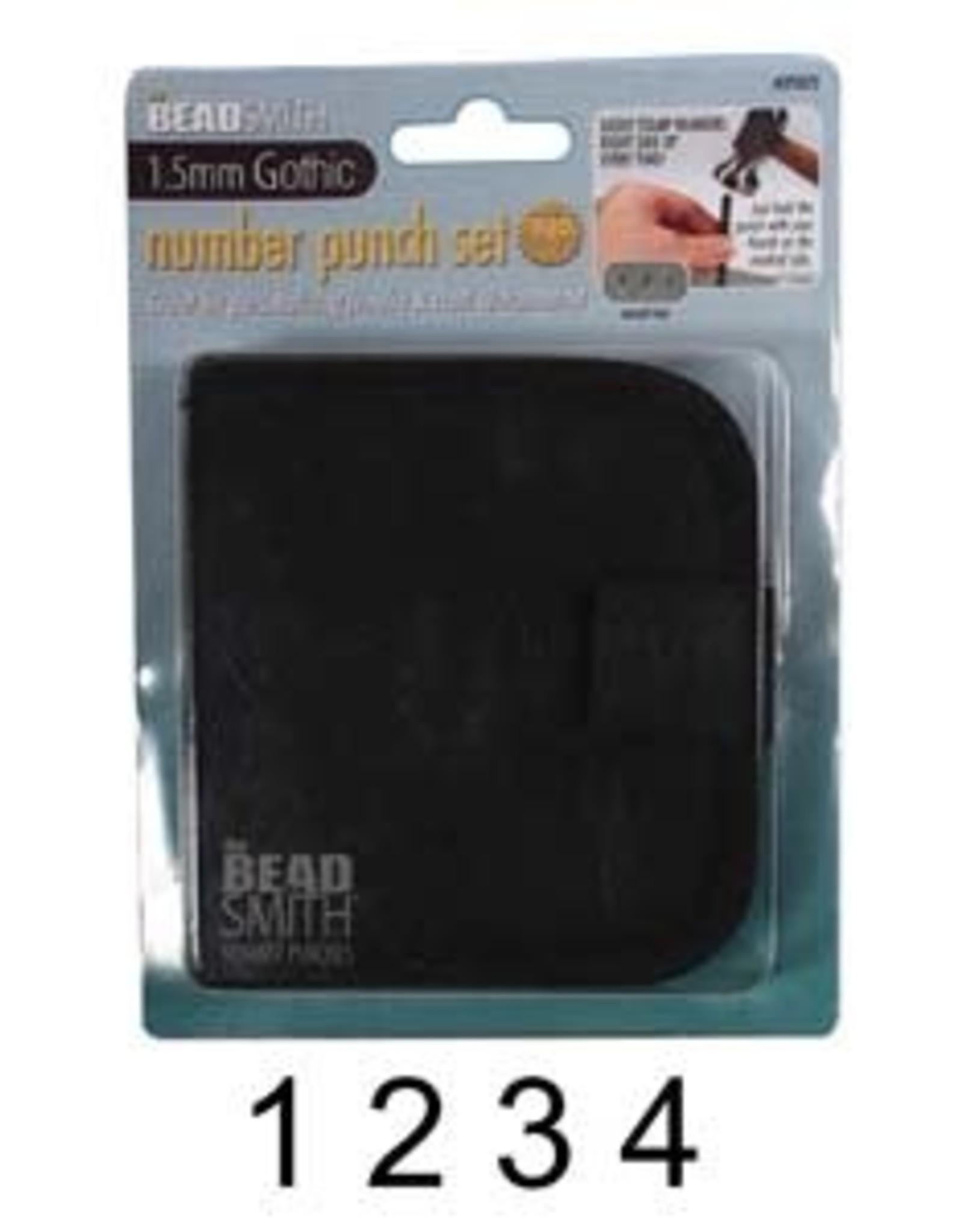 1.5mm Number Set
