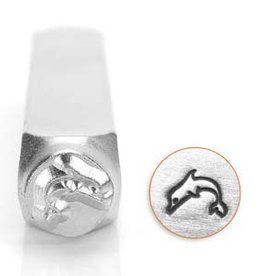 6mm Dolphin Stamp