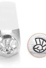 6mm Nautilus Shell Stamp