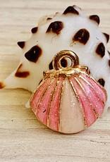 Clam Shell Enamel Pink