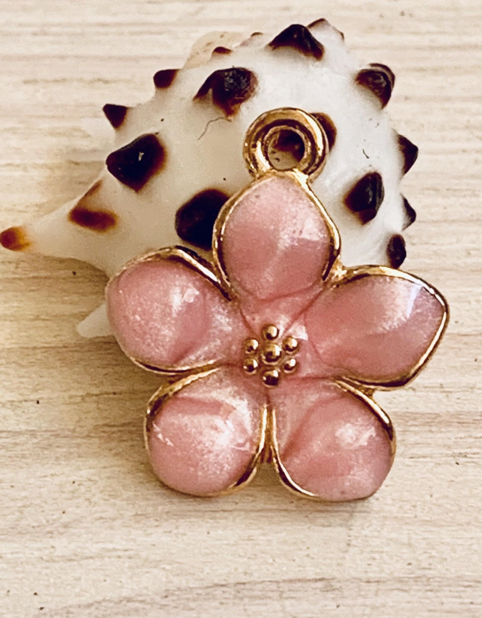 Cherry Blossom Enamel Pink