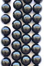 10mm Black Onyx Round Strand