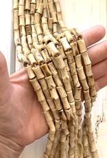 Bamboo Latte Bone Bead Strands