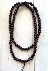 "8mm Wooden Mala 40"" Necklace"