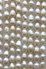 Rice Pearls White Strand